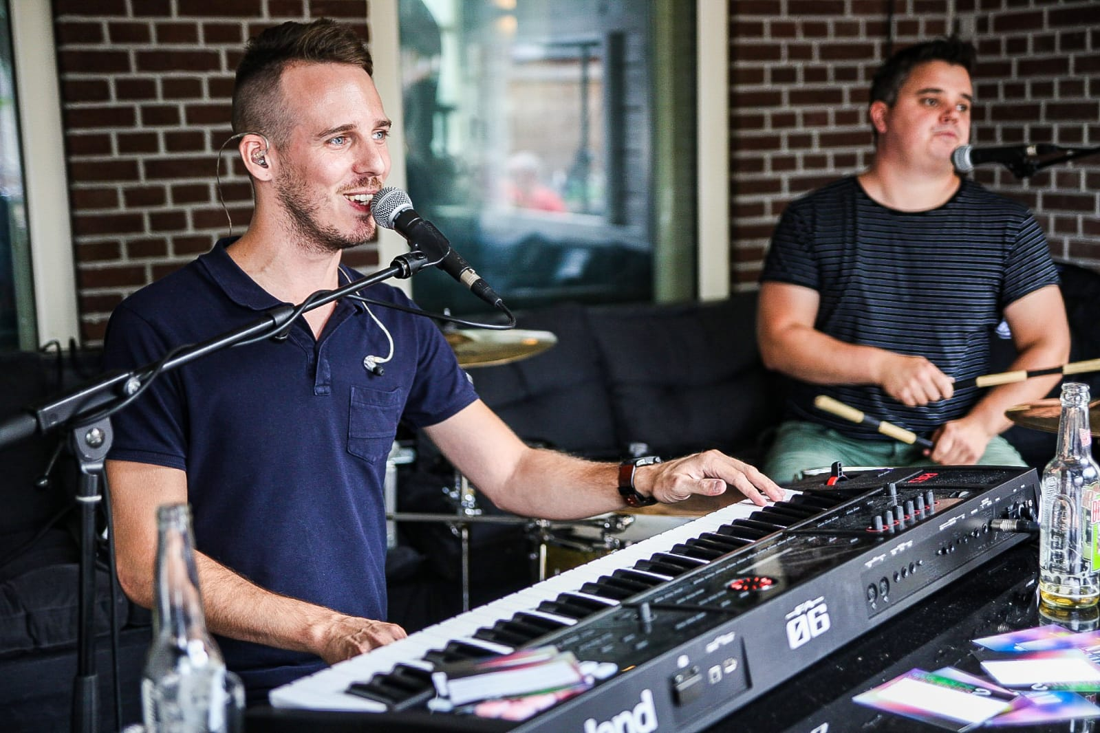 The Pianoman & Drums